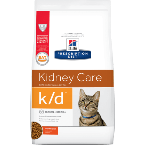 Hill's™ Prescription Diet™ k/d™ Feline | 1.81kg - Pet Chum
