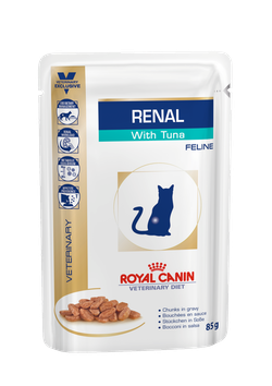 Royal Canin Renal with Tuna (85g * 12 pouches) - Pet Chum