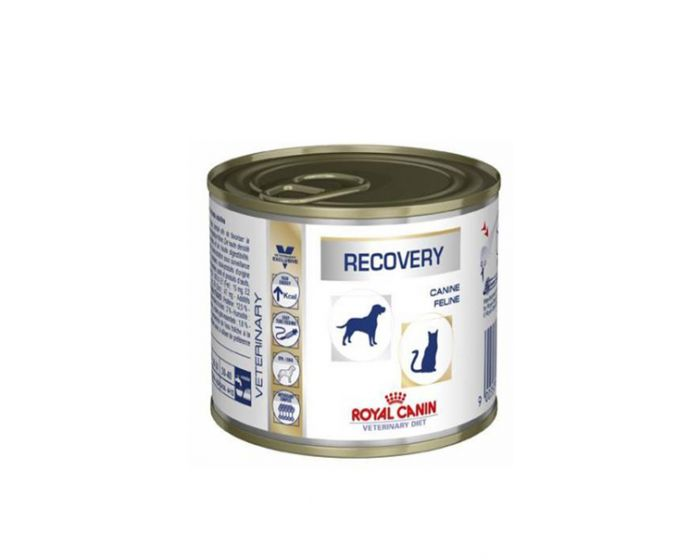 Royal Canin Veterinary Diet Wet Recovery Can Dog Food 195 gm - Pet Chum