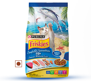 Purina Friskies Seafood Sensations Adult Cat Food - Pet Chum