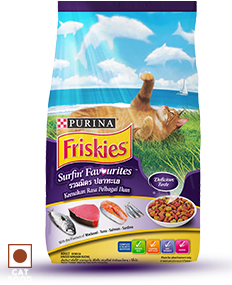 Purina Frieskies Surfin & Turgin Favourites Dry Cat Food - Pet Chum