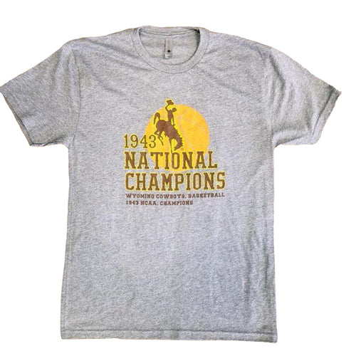 1943 National Championship Tee - Heather Grey