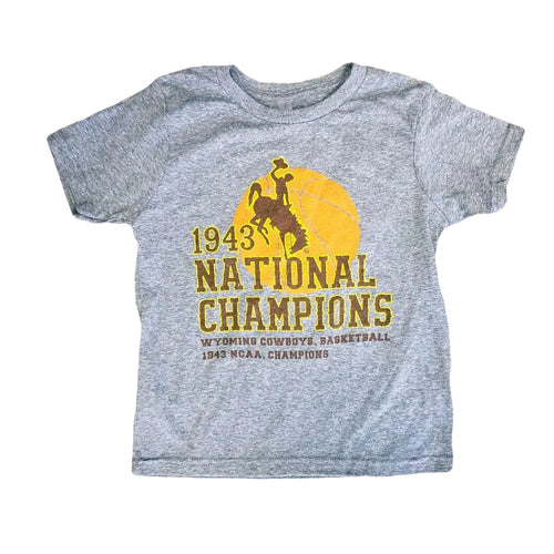 1943 National Championship Youth Tee - Heather Grey