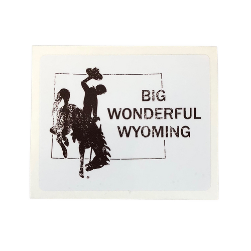 Big Wonderful Wyoming Sticker