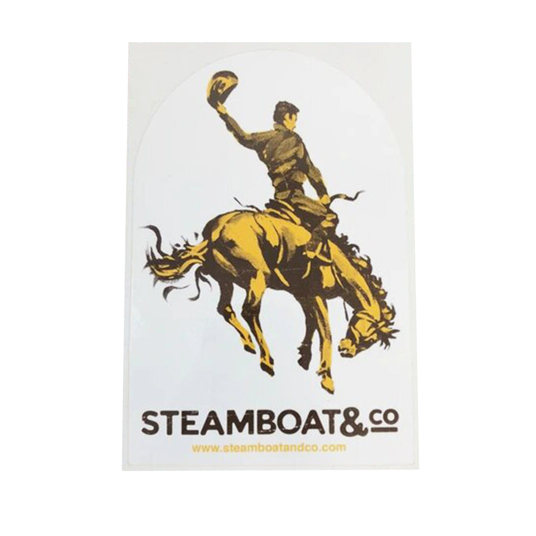 Classic Steamboat & Co Sticker