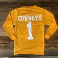 Youth Classic Steamboat Long Sleeve - Gold