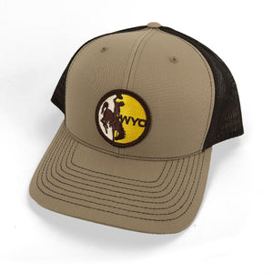 WYO Steamboat Patch Trucker - Khaki