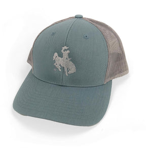 Steamboat Trucker Hat - Slate/Silver