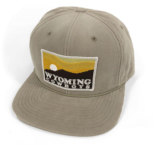 Wyoming Cowboys Sunset Corduroy Hat