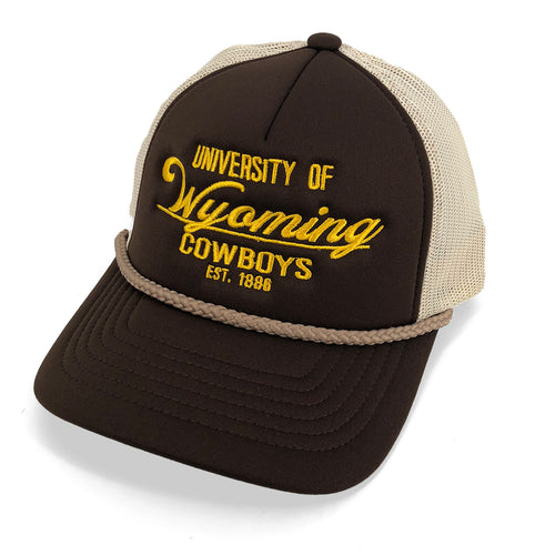 UW Foamie Trucker Hat - Brown