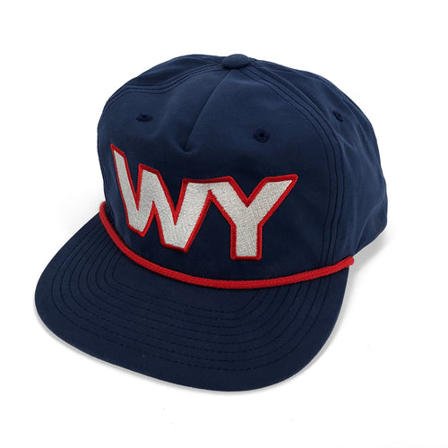 WY State Pride Gramps Hat - Navy