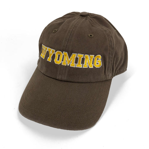 Wyoming Unstructured Dad Hat - Driftwood