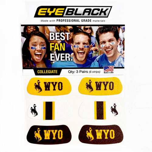 WYO Eyeblack FaceCals (3 pairs per pack)