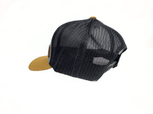 Load image into Gallery viewer, Cowboys Tri-Color Leather Patch Hat - Amber/Grey/Black