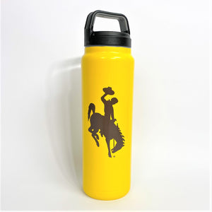 32oz Double Insulated Water Bottle - Gold