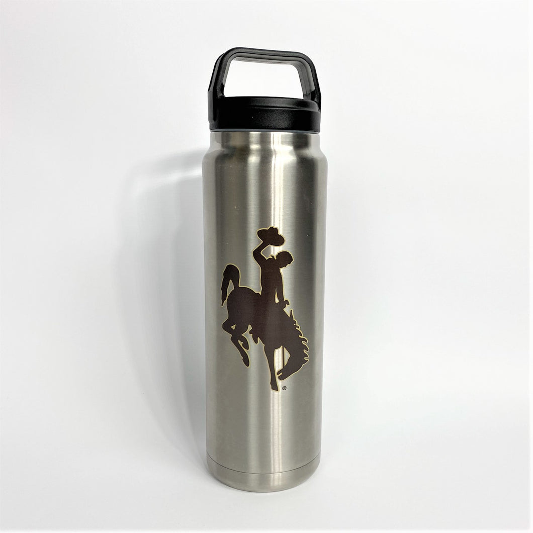 32oz Double Insulated Water Bottle - Silver