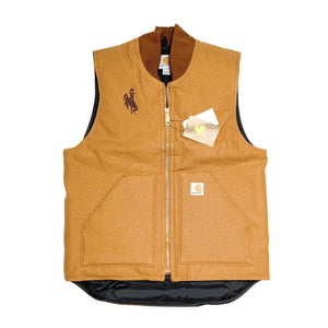 Steamboat Carhartt Duck Vest - Brown