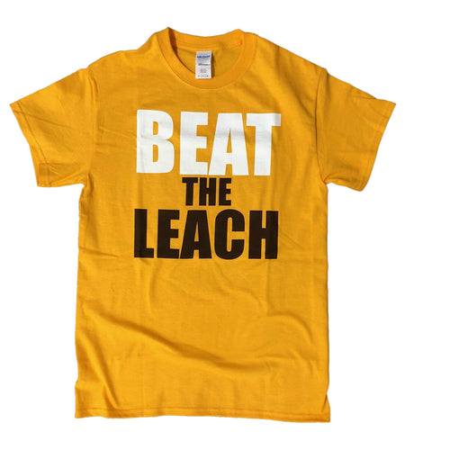 Men's Beat The Leach Tee - Gold