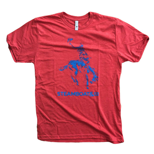 Men's Classic Steamboat & Co Tee - Red