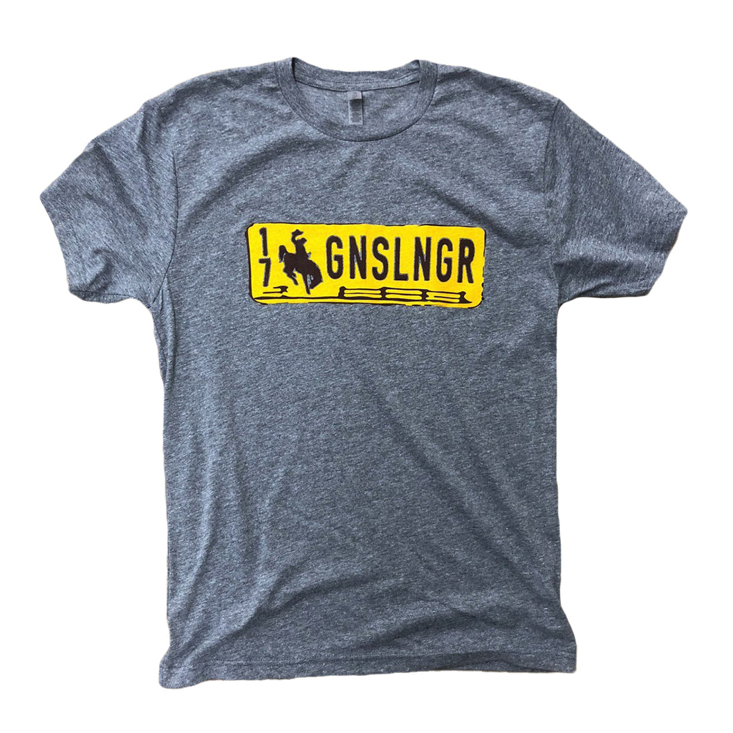 Men's Gunslinger Tee - Heather Grey