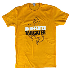 Men's Undefeated Tailgater Tee - Gold