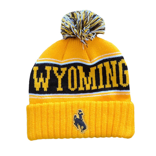 Vintage Wyoming Beanie - Gold