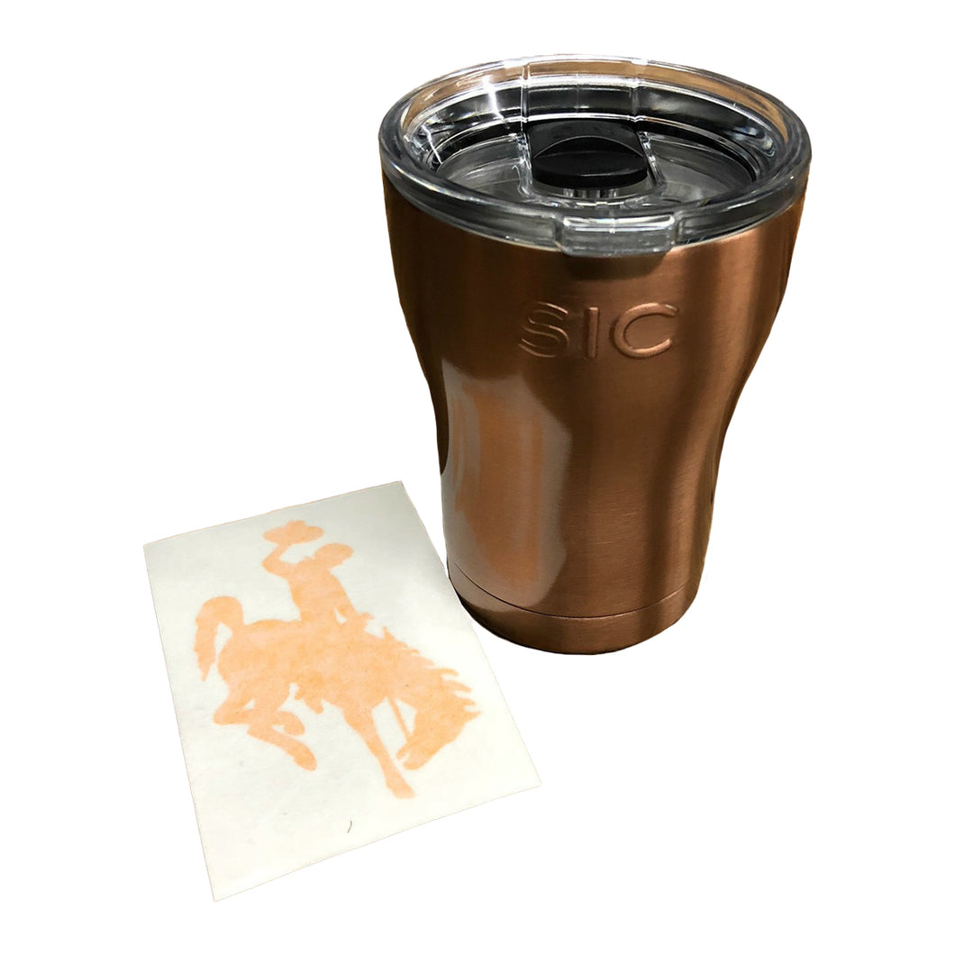 WYO Copper SIC Cup & Steamboat Sticker - 12oz