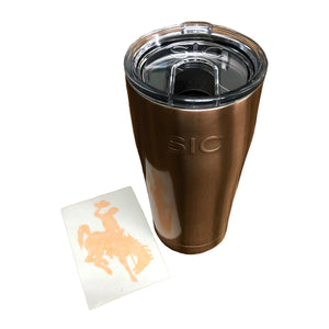 WYO Copper SIC Cup & Steamboat Sticker - 20 oz
