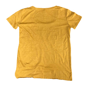 Women's I Rock Gold Scoop Neck Tee - Antique Gold