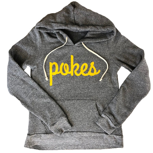 Women's Pokes Hoodie - Heather Grey