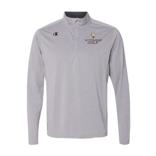 Men's Wyoming Golf Quarter Zip