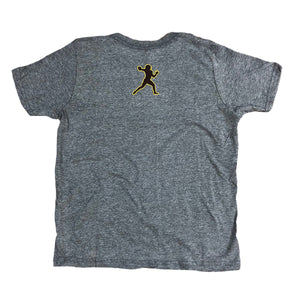 Youth Gunslinger Tee - Heather Grey