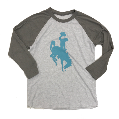 UNISEX Steamboat Baseball Raglan - Teal
