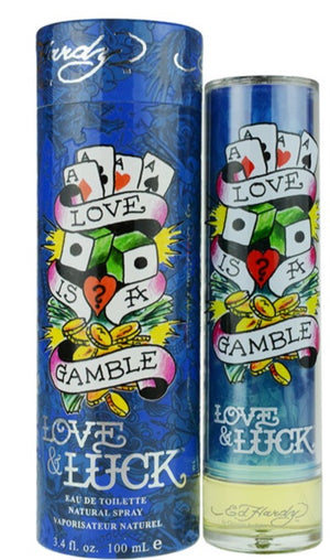 Ed Hardy Love & Luck 3.4 oz Men