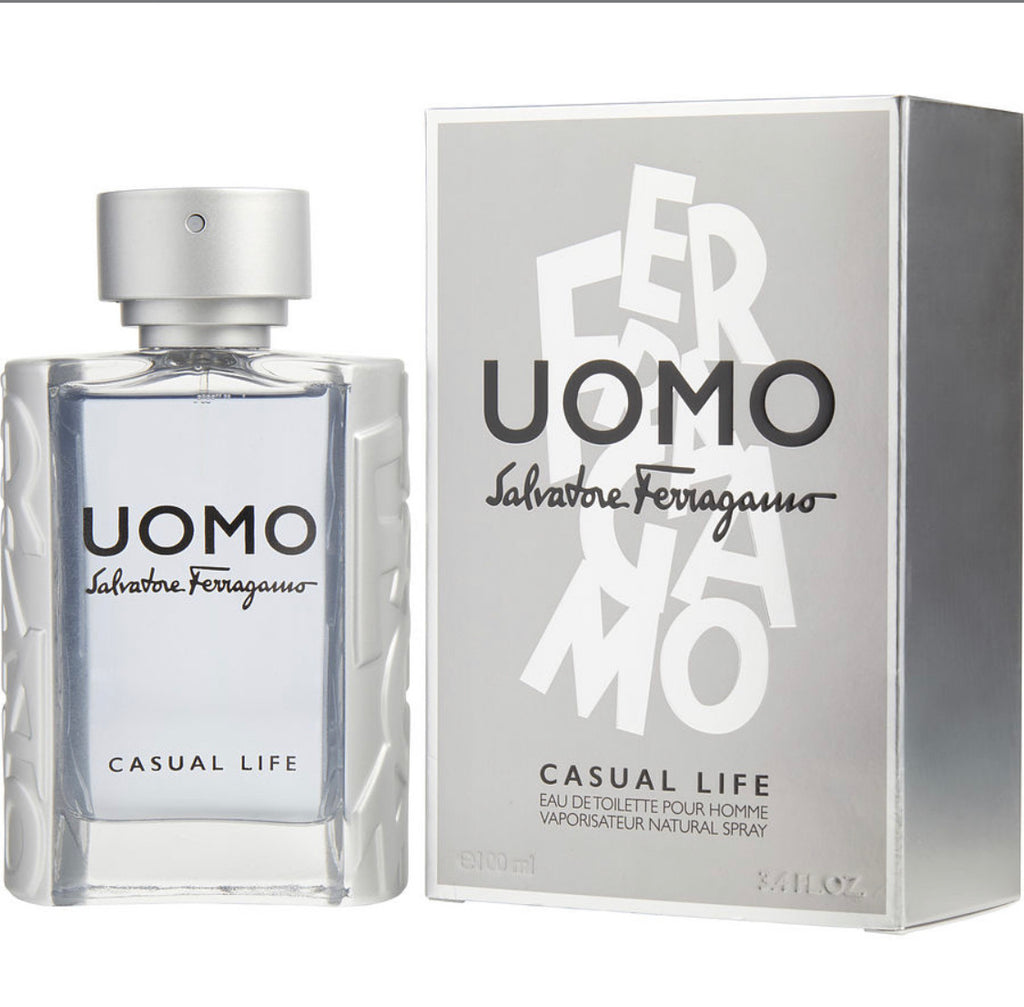 SALVATORE FERRAGAMO UOMO CASUAL LIFE 3.4 EDT SP