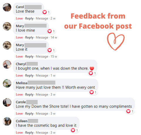 Great feedback received from our customers
