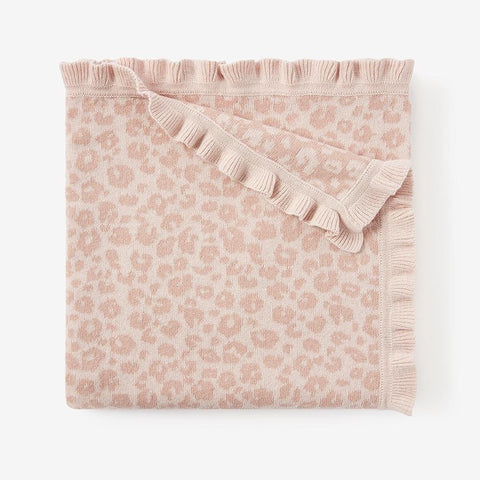 Elegant Baby Blanket - Leopard available at The Good Life Boutique