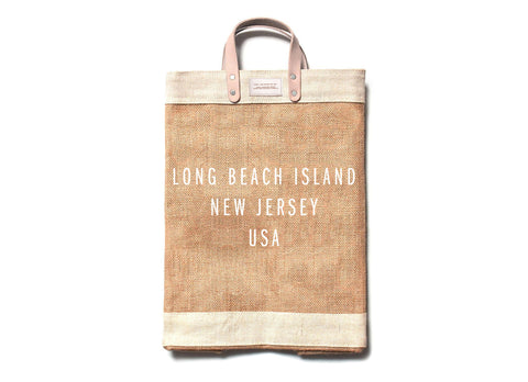 Apolis Holdings Customized LBI Market Tote available at The Good Life Boutique