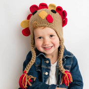 Huggalugs Turkey Earflap Beanie Hat available at The Good Life Boutique