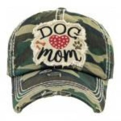 Dog Mom Hat - Camo