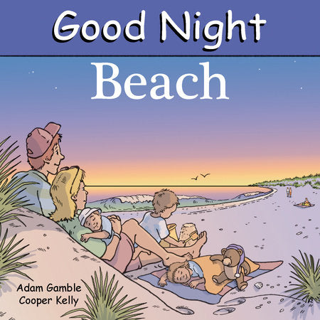 Penguin Random House Good Night Beach available at The Good Life Boutique
