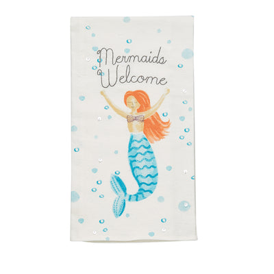 MERMAID WELCOME TOWEL