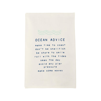 OCEAN ADVICE TOWEL