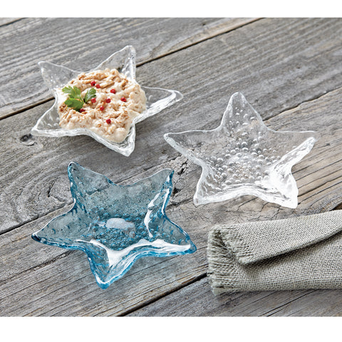 Small Starfish Dip Cups