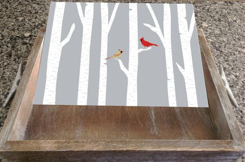 Salt Air Designs Cardinal Mate - INSERT ONLY - NO TRAY available at The Good Life Boutique