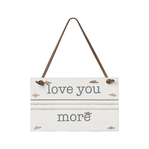 Collins Painting & Design, LLC Love You More trim ornament available at The Good Life Boutique