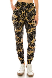 Love It Swirl Design Sweatpants/Joggers with Elastic Waist available at The Good Life Boutique