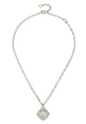 French Kande Loire Arles Necklace Silver available at The Good Life Boutique