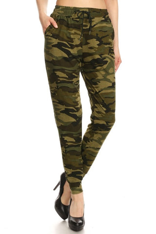 Love It Camo Printed Sweatpants/Joggers available at The Good Life Boutique