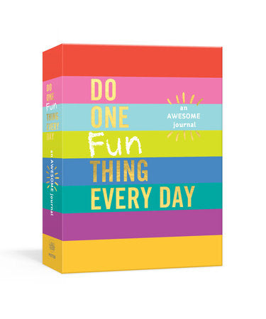 Penguin Random House Do One Fun Thing Every Day journal available at The Good Life Boutique